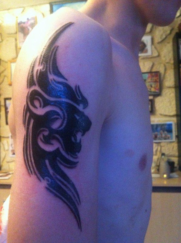 Mon 2éme tatoo !