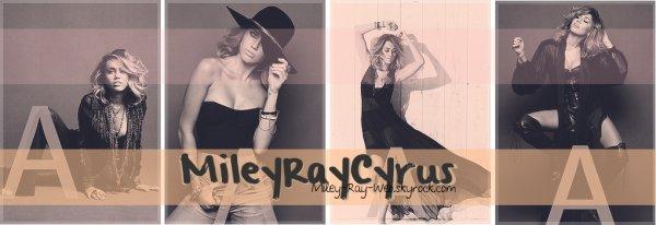 Bienvenue sur Miley-Ray-Web  •  Ta source d'actualité sur la célèbre Miley Cyrus.