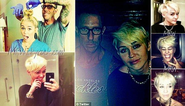 Quand Miley Cyrus se coupe les cheveux, Twitter est le premier informer!