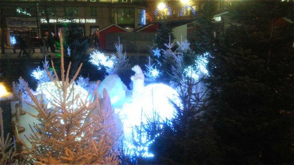 promenade au marché de Noël  d'Amiens samedi