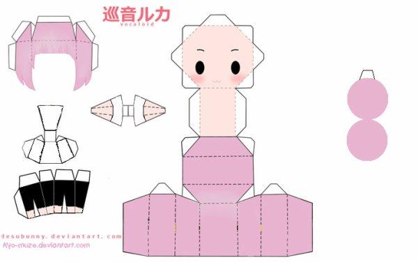 Papercraft Luka!