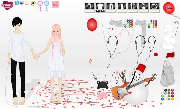 Jeu Dress Up Just Be Friends