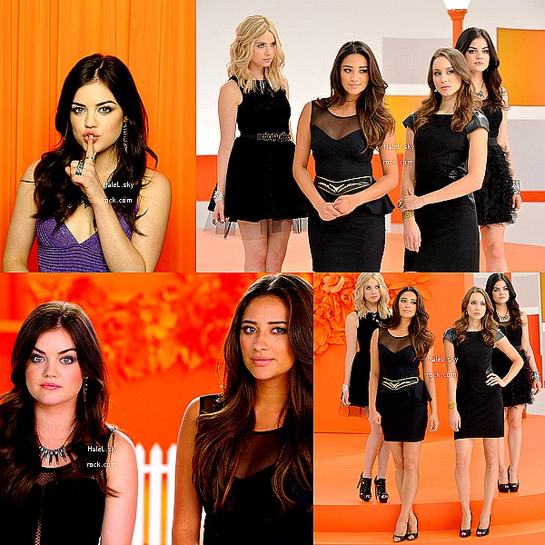 Découvrez dès à présent des photos promotionnelles de la 4e saison de PLL. J'adore et vous ?