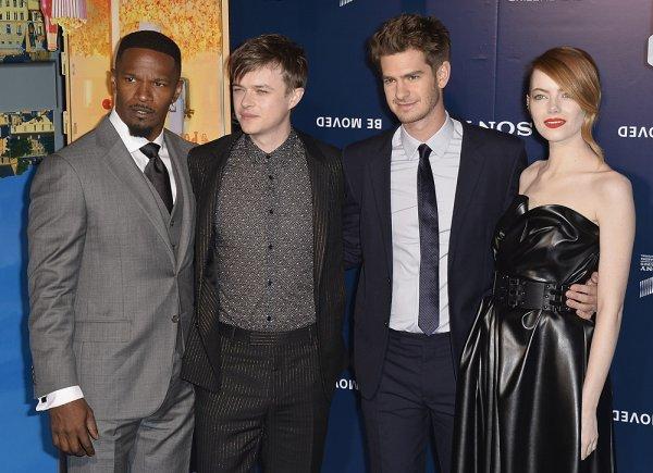 11/04 : Hier soir avait lieu l'avant-première française de The Amazing Spider-Man 2 à Paris (Grand Rex) ! Notre belle américaine portait une robe Lanvin, et a posé au côté du cast du film.