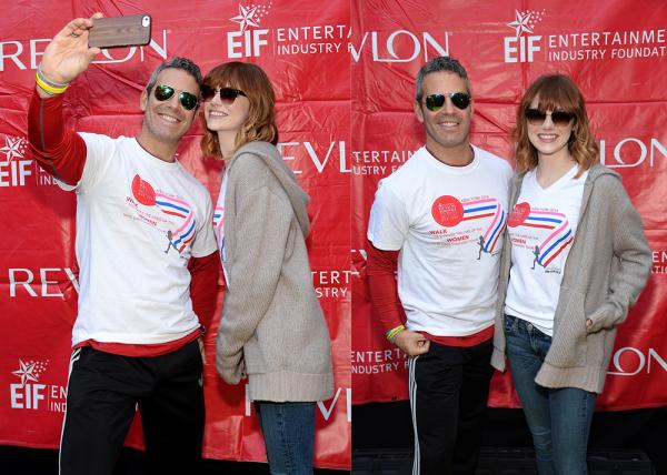 03/05 : Comme l'année dernière, Emma a participé au Revlon Run Walk For Women qui récolte des dons pour la lutte contre le cancer.