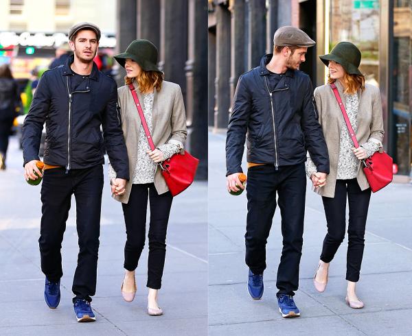 18/04 : Emma et Andrew ont été vu par les paparazzis en train de se promener dans les rues de NYC.
