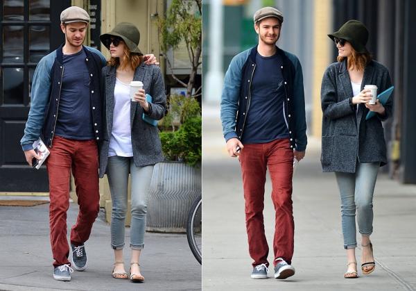 21/05 : Encore et toujours, notre couple préféré était en train de se promener, café à la main, dans les rues new-yorkaises.