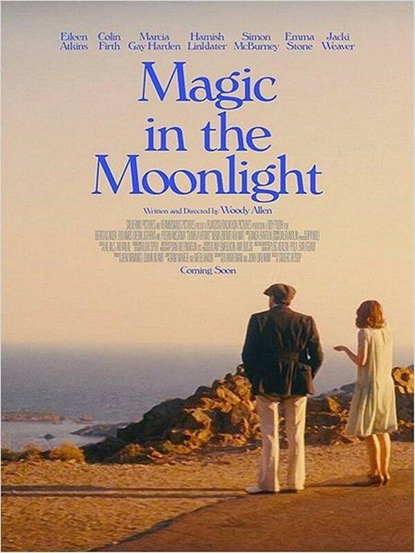 Découvrez la première affiche officielle de Magic in the Moonlight.