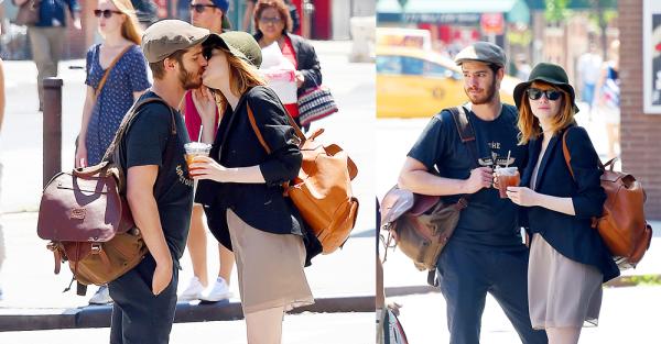 16/10 :  Notre couple préféré a été pris en flagrant-délit par les paparazzis alors qu'ils se promenaient dans NYC.