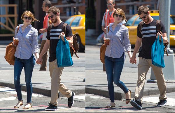 23/06 : Comme toujours, notre couple préféré s'est retrouvé face aux paparazzis qui en ont profité pour les prendre en photos lors d'une promenade.
