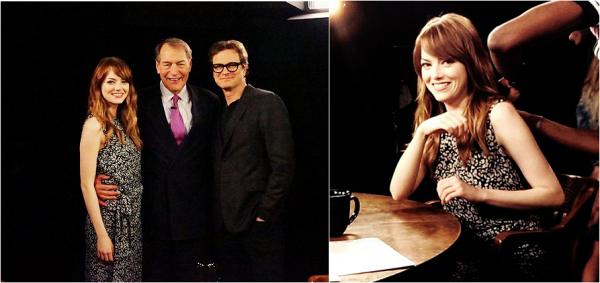 17/07 : La promo a continué pour Magic in the Moonlight, avec Emma sortant de son hôtel afin de se rendre à une future interview par laquelle elle s'est fait interviewé par Josh Horowitz.