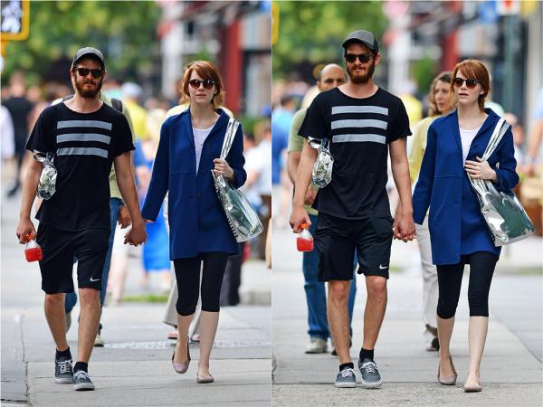 19/07 : Emma et Andrew sont de nouveaux passés sous les flashs des paparazzis alors qu'ils se promenaient dans NYC.