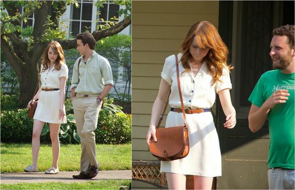 25/07 : Notre jolie rousse a repris le chemin du tournage dans le Rhode Island, précisement à Providence. Elle a été prise en photo en train de tourner une scène pour le film de Allen.