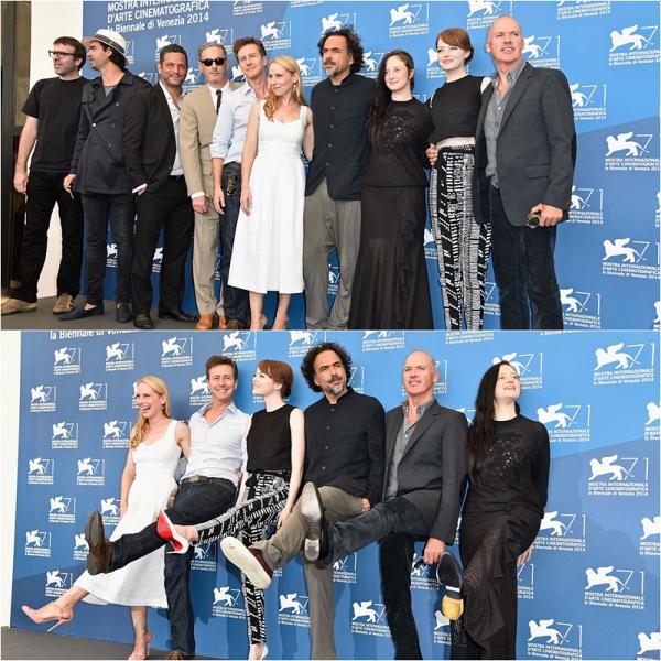27/08 : Notre belle américaine était au photocall de Birdman avec une majeure partie du casting pour le 71ème Venice International Film Festival.