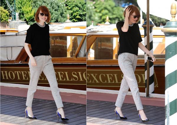 + 28/08 : Emma s'est rendue à un dîner dans Venise, en compagnie d'Andrew. Puis après s'est changée, Emma et son amoureux ont visité la ville.