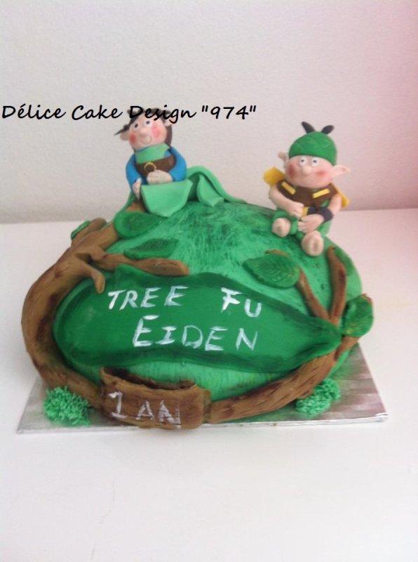 Cake Tree Fu Blog De Delice Cake Design 974