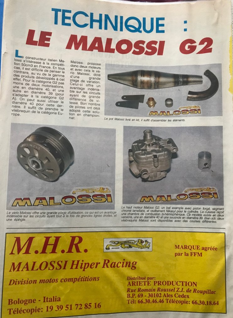 Technique préparation Malossi G2 Mbk