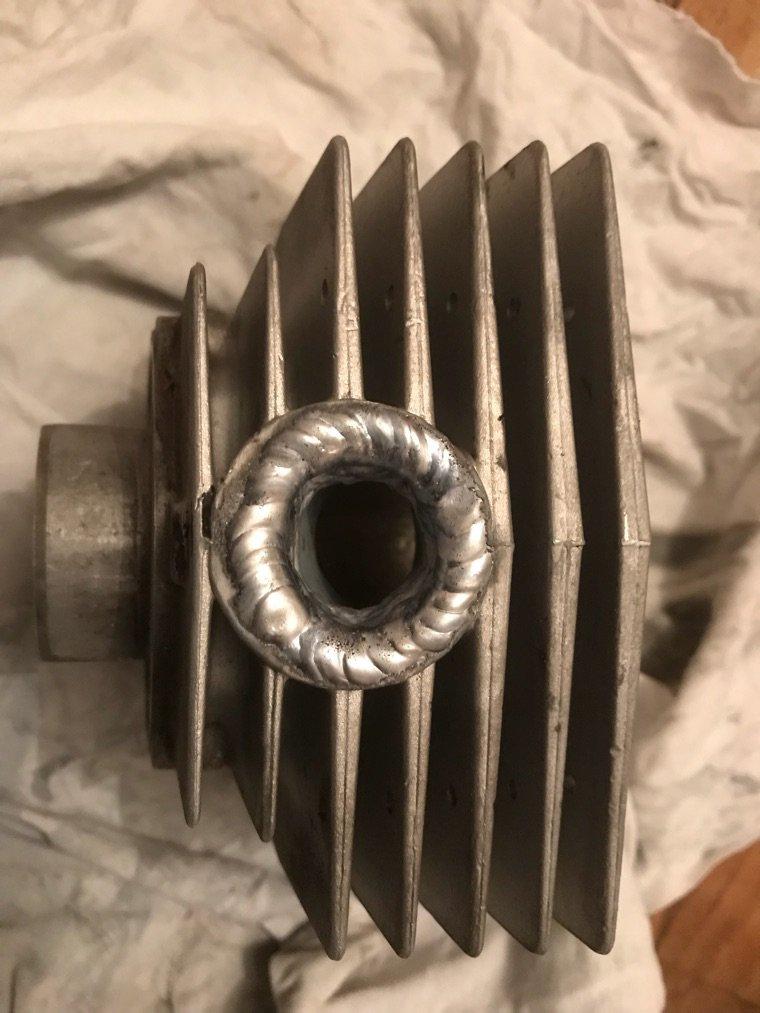 Cylindre enfin réparé
