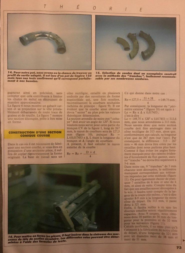 Théorie partie 1: Fabrication d'un pot pour un cylindre à trou