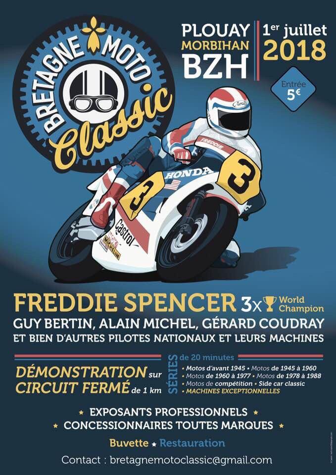 Bretagne moto Classic 2018 plouay (56) 1/07/18