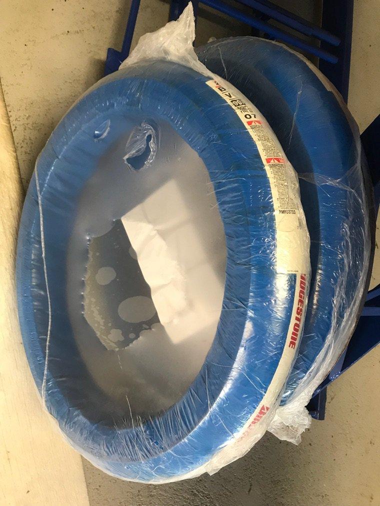 Montage pneu BT 39 Vo2