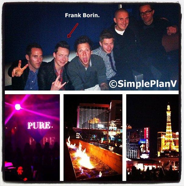 Candids/Autres :Vendredi 24 Avril 2013:  L'enterrement de vie de garçon de Patrick à Las Vegas.  Reverso , aussi.