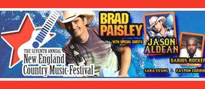 Un concert de Brad Paisley........vu sous une autre facette....
