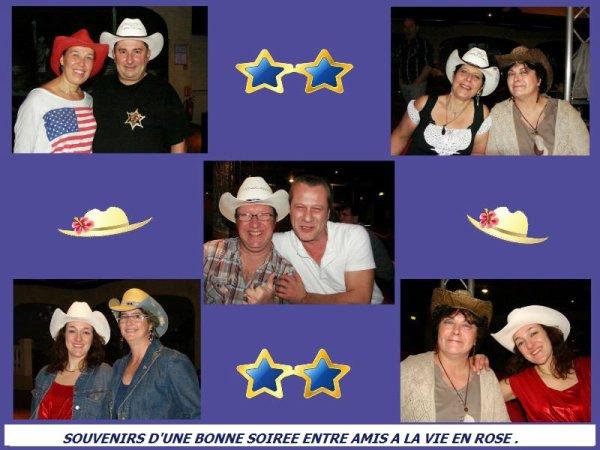 Notre rendez-vous mensuel à la Vie en Rose vendredi soir , avec un moment dédicacé à notre amie Rosarhino pour son anniversaire, super soirée ,bonnes rigolades, et bien sur bons moments sur la piste ..... ! Un tag loupé sur quickly à cause d'une fan de Brady qui s'est lacher ! lol ,  Une pensée particulière pour les copines qui n'ont pu venir ,!!