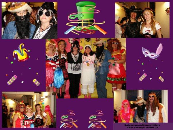 Photos de notre soirée au bal costumé à Morainvillier 78.