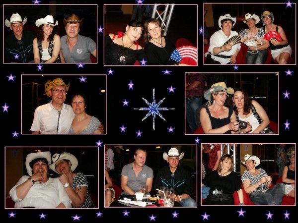 Les photos de notre soirée d'hier soir à la Vie en rose .....