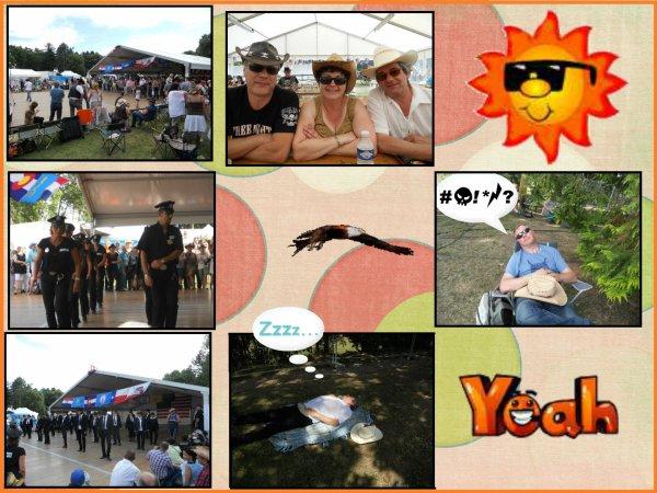 Festival :AMERICAN NORMANDY 2014 à Maltot près de Caen (14) ............N° 1.........