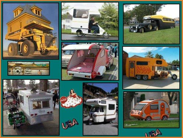 Quelques modèles de camping-cars pour faire votre choix !! Certains ont pas mal de km mais les idées ne manquent pas pour voyager avec le confort !! Entre les petits pour voyager seul ou le master pour emmener toute la famille , avec trois ou quatre roues et plus , on a le choix !!