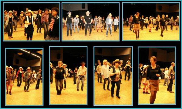 Deuxième bal Téléthon ce weekend avec les Country Dancers 28 à Lèves samedi 06 Décembre ........