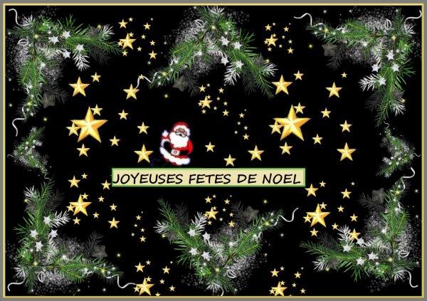 Joyeux Noel à tous les amis ,une pensée pour les êtres partis ,les malades, et une  pensée particulière pour une personne très chère à mon c½ur et très malade .........