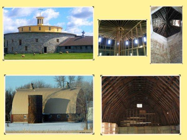 Les granges américaines ....  Leur structure,leur forme  et leur histoire ..............N°2