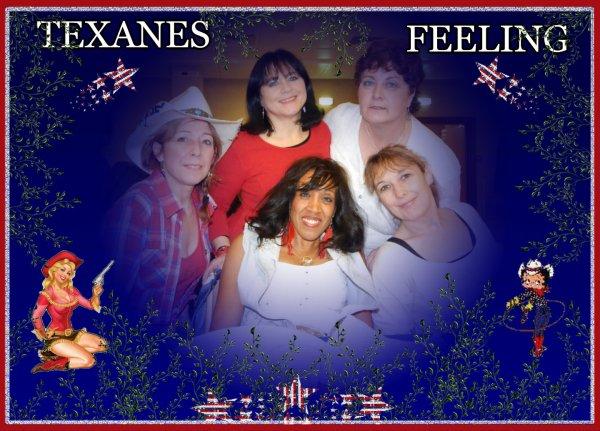 Démo de mes amies Texanes Feeling à Nanterre (92).