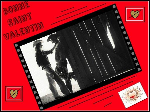 Saint Valentin.........   Bonne journée à tous ceux qui s'aiment .........