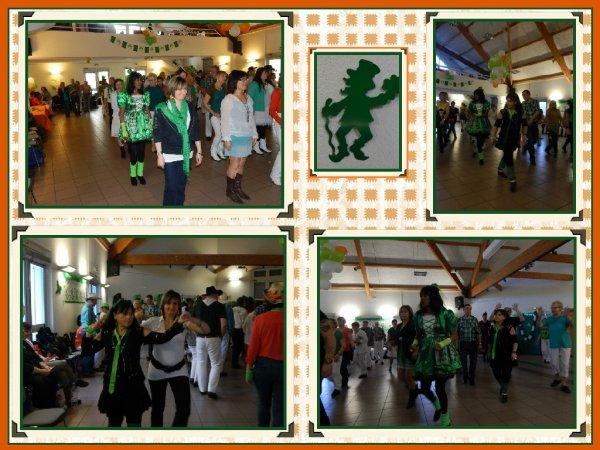 Bal Saint Patrick du dimanche 15 mars .