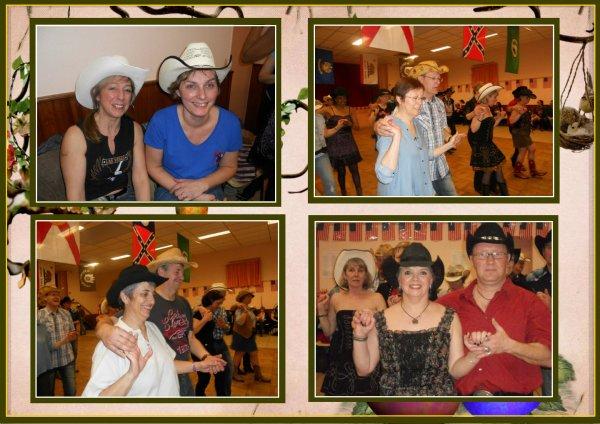"""Bal des Cherokees Dancers Samedi soir à Broué 28......... """""""" En attendant le retour des cloches chargées de chocolat  """"""""."""