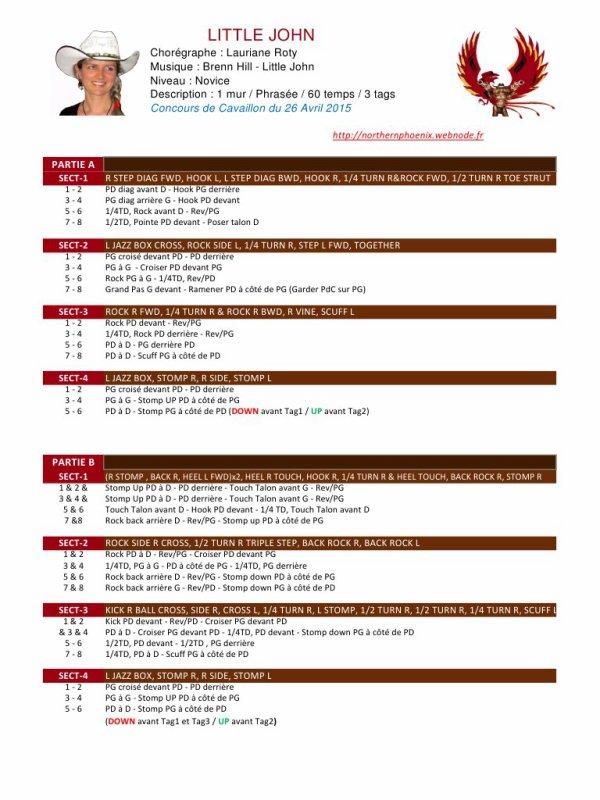 """Une chorée très sympa sur une musique de Brenn hill : """"Little John """" Par les Northern Phoenix à Cavaillon  lors du concours 2015. Avec nos amis Flo et Alain .Bravo pour votre prestation belle musique et bel ensemble sur la scène ...."""