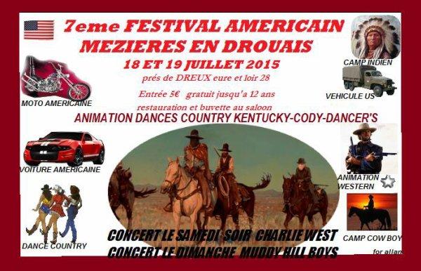 Un festival qui approche  bientôt ....... Tout prêt de chez nous , Entre Nogent le Roi et Dreux 28. (Eure et Loir )
