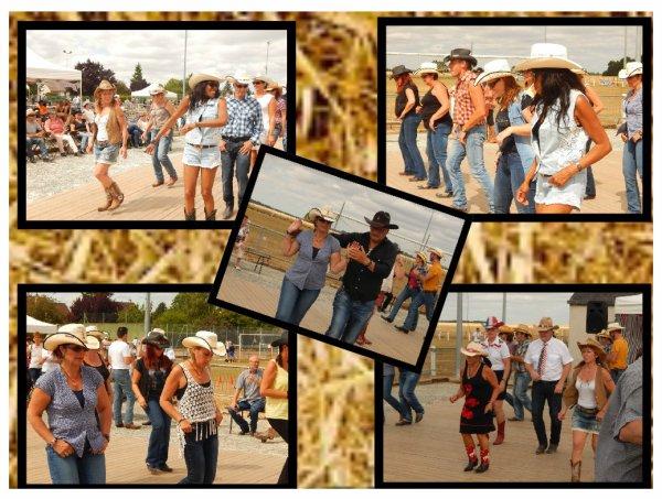 Après la vidéo voici Les photos du 14 juillet avec les Cherokee's Dancers . Des sourires , un plancher bien occupé par tous les danseurs présents , de la chaleur et même beaucoup, un p'tit air de festival pour ce 14 juillet animé dans la joie et l'amitié .........