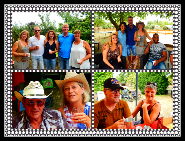 N°1...... Barbecue Partage chez Caro ....Samedi 08 Aout 2015.
