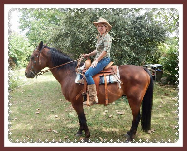 Après midi photo avec Caro et son cheval !!