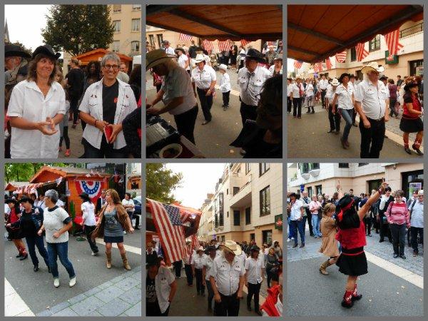 Forum des Associations de Chartres: Voici un petit film monté par Michel avec quelques photos prises le samedi  au forum , un moment bien sympathique pour un public enthousiaste et avec un soleil qui a su résister au ciel gris et parfois menaçant . Merci Michel pour ce film que tu as réalisé et très sympa de m'autoriser de le posté sur mon blog. Merci à tous les danseurs présents ,le groupe de Denise , Maryline, et les autres ,nous avons passé un bel après midi .