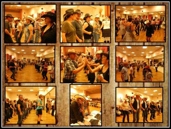 """Beaucoup de monde pour le bal des Bottes en Folie ce samedi soir . Une playlist très variée pour satisfaire les danseurs catalans,et country avec des moments uniques , comme la présentation d'une nouvelle danse qui arrive """""""""""" To be saved """""""" . Apprise chez nous mardi dernier , ce fut un plaisir de la danser au bal ."""