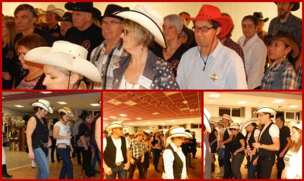 Premier bal des Calèch'Country d'Echauffour 61 avec Valou et les Country Road 61. Weekend très sympa entre amis .