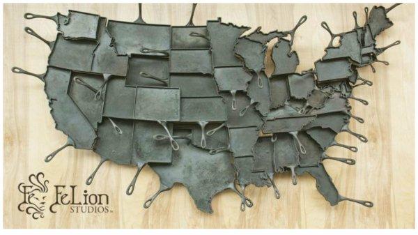 Inspiration Créative avec l'Artisanat qui vient du Wisconsin (USA).