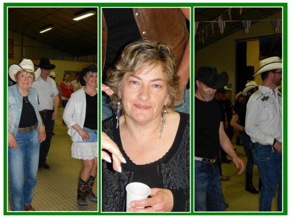 Petite virée dans l'Eure ce samedi pour le bal des Lucky Boots Lommoye à St Aquilin de Pacy 27.