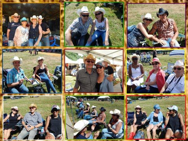 """Un dimanche en plein air sur le thème country dans l'orne (61) , Festival sympa chez les """" Coyotes Line Dance """""""